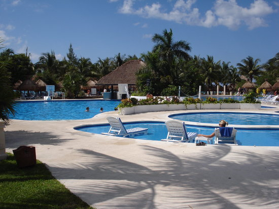 Iberostar Cozumel: Pool area