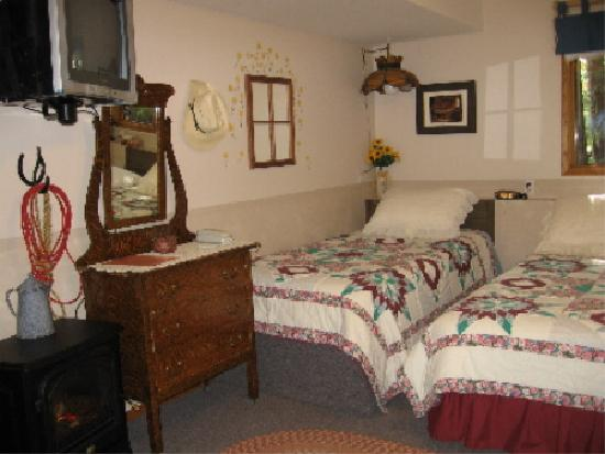 Homestead Bed & Breakfast: Queen & Single Beds,Stove Fireplace,TV