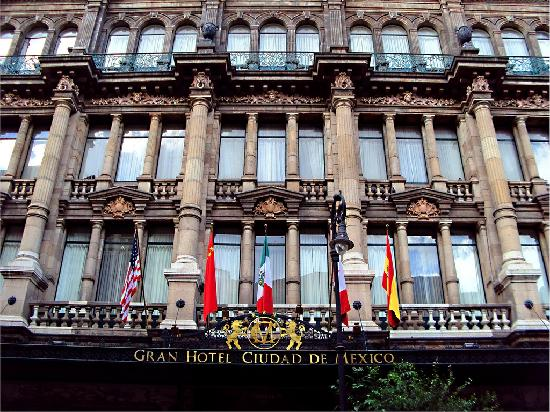 Gran Hotel Ciudad de Mexico: Fachada del Hotel