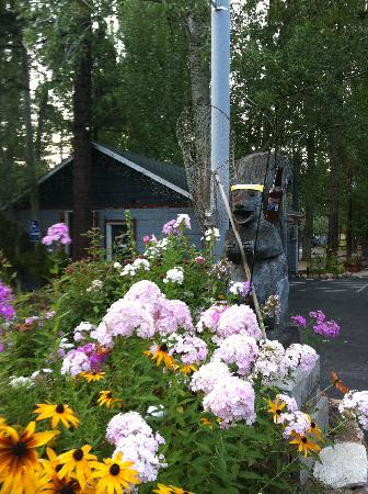 Grey Squirrel Resort: Pretty flowers