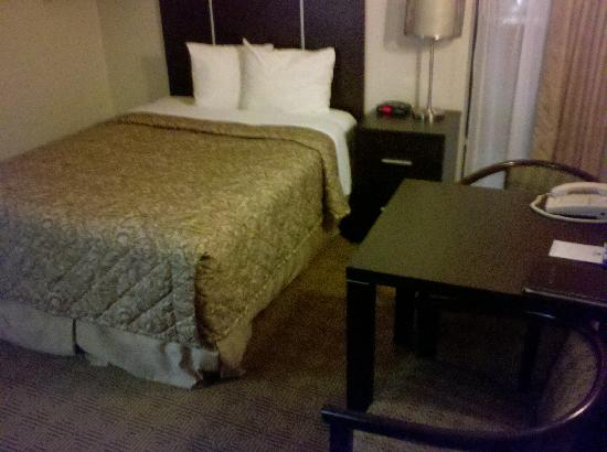 Canadas Best Value Inn: Room faving West (Evans Ave)
