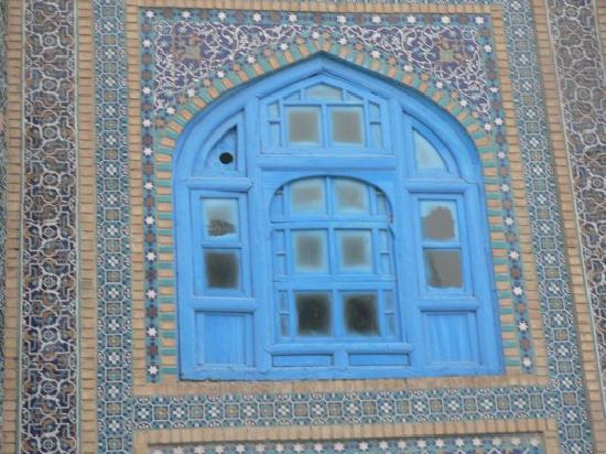 Mazar-i-Sharif, Afghanistan : Hazrat Ali shrine(Blue Mosque), Mazar-e Sharif