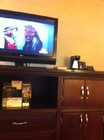 Drury Inn &amp; Suites Charlotte North: Flat screen tvs