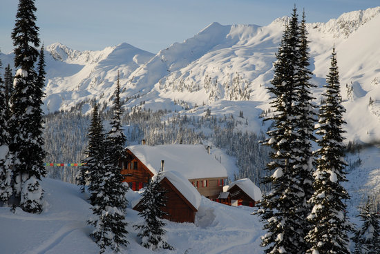 Selkirk Mountain Experience Lodge: Durrand Glacier