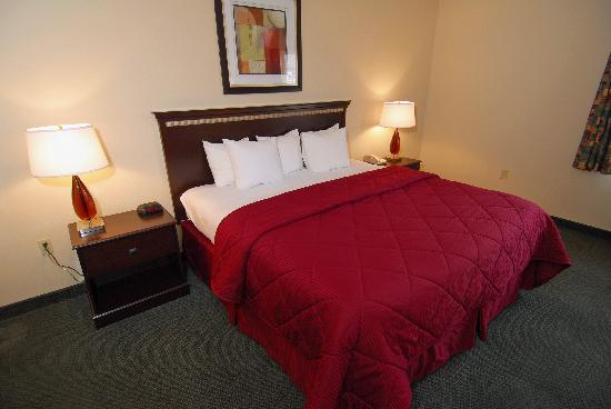 Comfort Inn Downtown Wenatchee: Guestroom with one King Bed