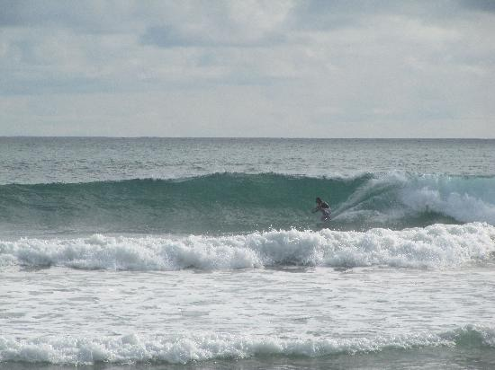 Santa Teresa, Costa Rica: Typical day of surf out front