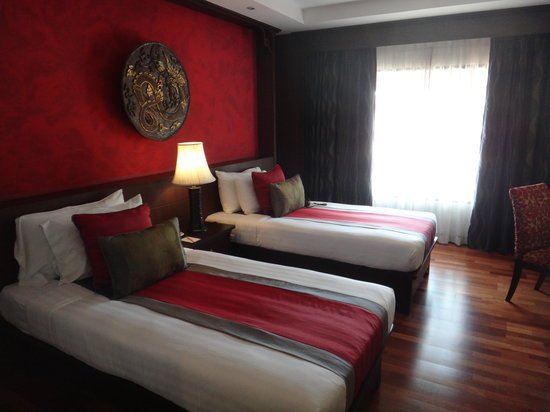 De Naga Hotel: Twin room