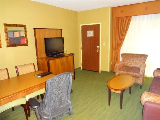 Embassy Suites East Peoria: Room