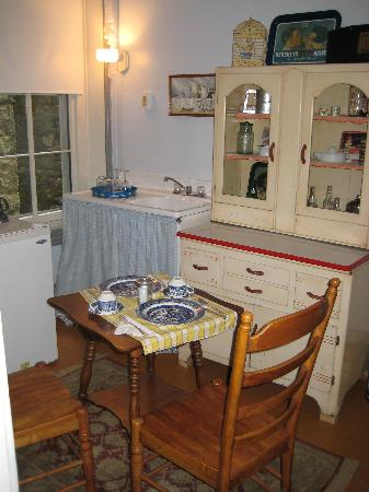 The Times House: kitchen/dining area