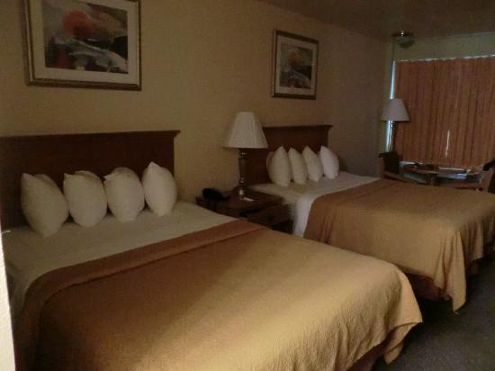 Quality Inn & Suites at Dollywood Lane: Comfy Beds and spacious room