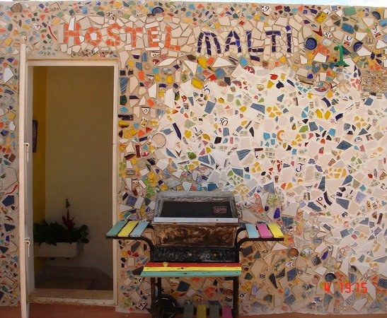 Hostel Malti... a mosaic of nationalities