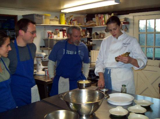 The Wakefield Inn: cooking class