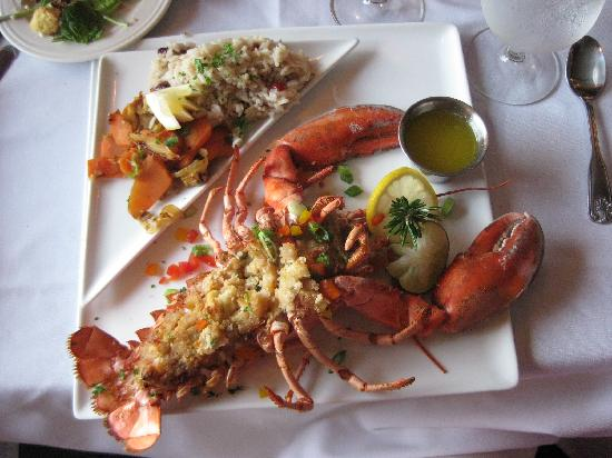 Baked Stuffed Lobster - Picture of Beal House Restaurant, Littleton ...