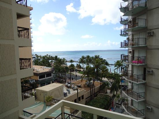 Aston Waikiki Beach Tower: View from our room, beautiful