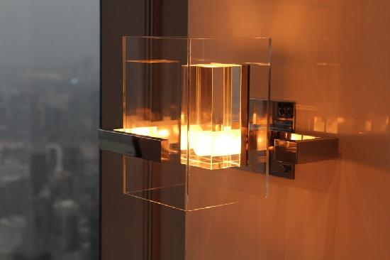 neat wall light - Picture of Park Hyatt Shanghai, Shanghai ...