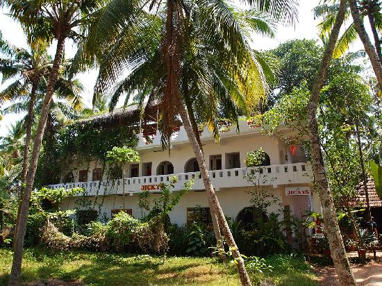 Jicky's Rooms in Varkala, Kerala, in South India