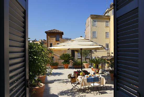 Hotel Ponte Sisto : Panoramic Terrace Suite 4th Floor 