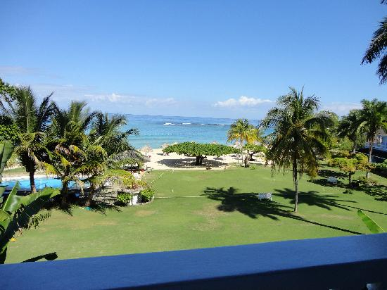 Jamaica Inn: View from reception
