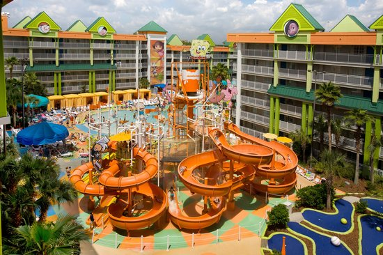 Nickelodeon Suites Resort: Don't Just Stay Here, Play Here!