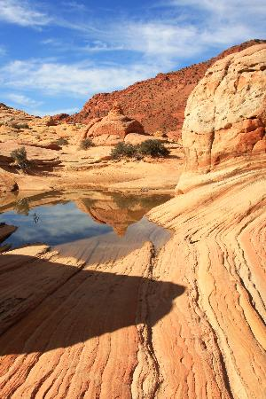 Big Water, UT: reflections