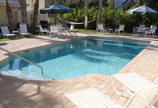Sea Spray Resort on Siesta Key: Refreshing, Relaxing Heated Pool!
