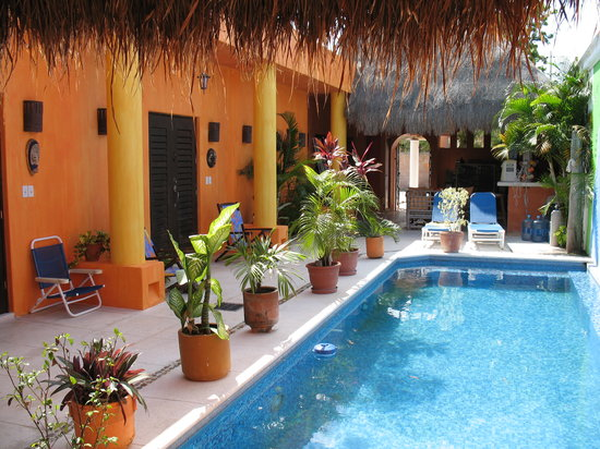 Casita de Maya: View from Pool