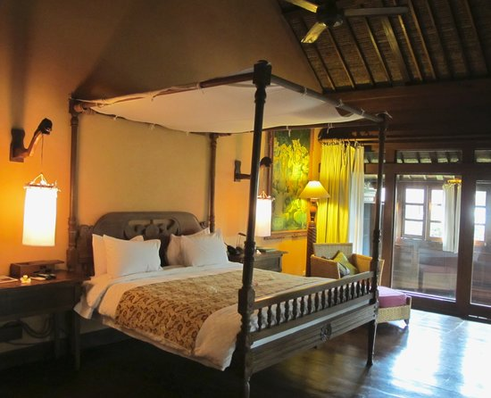 Hotel Tugu Bali: bedroom room 202