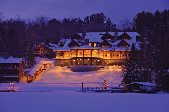 Lake Placid Lodge: The Lodge from Lake Placid