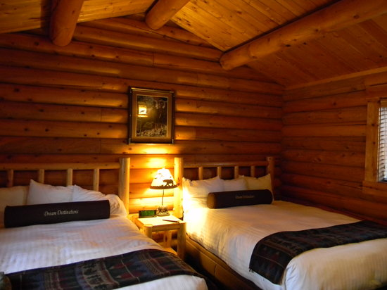Togwotee Mountain Lodge: Togwotee - cabin, bedroom
