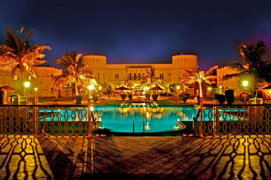 Sohar Beach Hotel: Main View