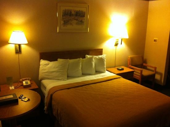 Quality Inn &amp; Suites Casino Area: queen room