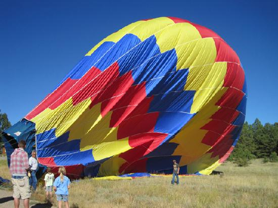 Rocky Mountain Balloon Adventures, LLC.: The graceful diminishing...