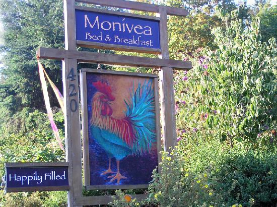 Monivea Bed and Breakfast: Monivea B&amp;B, Salt Spring Island