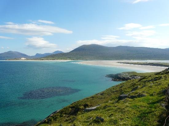 Isle of Harris, UK: From Seilebost looking towards the Luskentyre peninsula