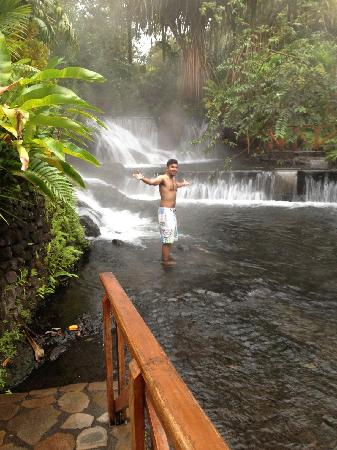 Tabacon Grand Spa Thermal Resort: Submerged in the Hot Springs