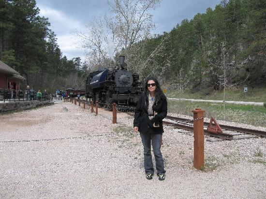 Black Hills: train ride