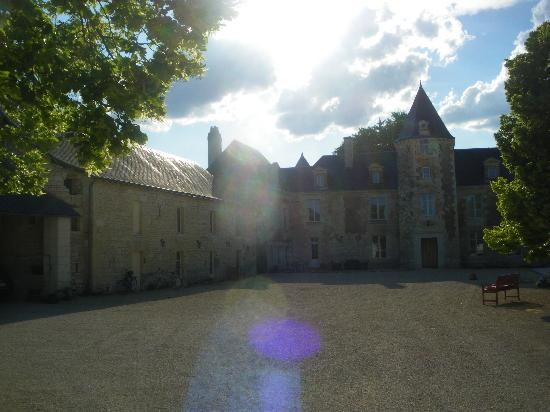 Loire Valley Retreat: Les Ecuries in the stable block on the left