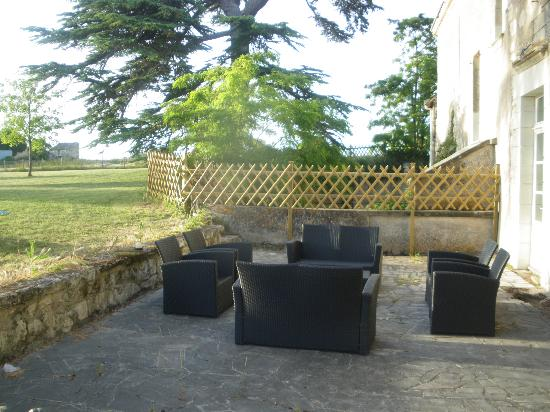 Loire Valley Retreat: Rear terrace