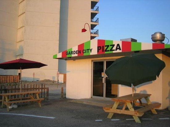 Garden city pizza garden city beach restaurant reviews Garden city pizza