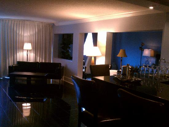 Clarion Hotel Atlanta Airport South: Hammond Executive Suite Social Area