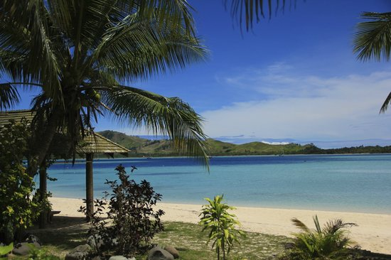 Malolo Lailai Island, Fiji: View from the pools