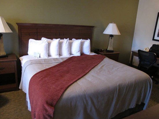 BEST WESTERN PLUS Town & Country Inn: Lovely arranged bed