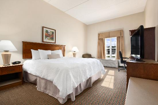 Hampton Inn and Suites Providence / Warwick Airport: King Bed
