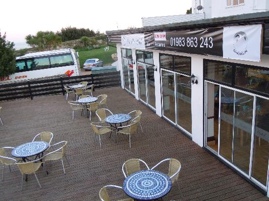 Shanklin, UK: Patio area