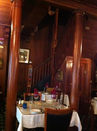 Shelburne Country Inn: dining room