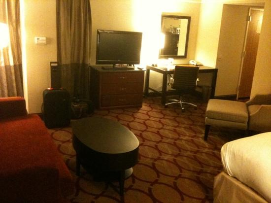 Hilton College Station & Conference Center: This was my junior suite