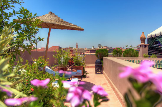 Riad Al Karama: La terrasse