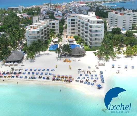 Ixchel Beach Hotel - Front View