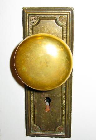 Powell Place: Old Brass Door Knobs