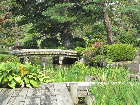 Hirosaki, Japan: lower garden